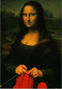 Mona lisa strickt 303